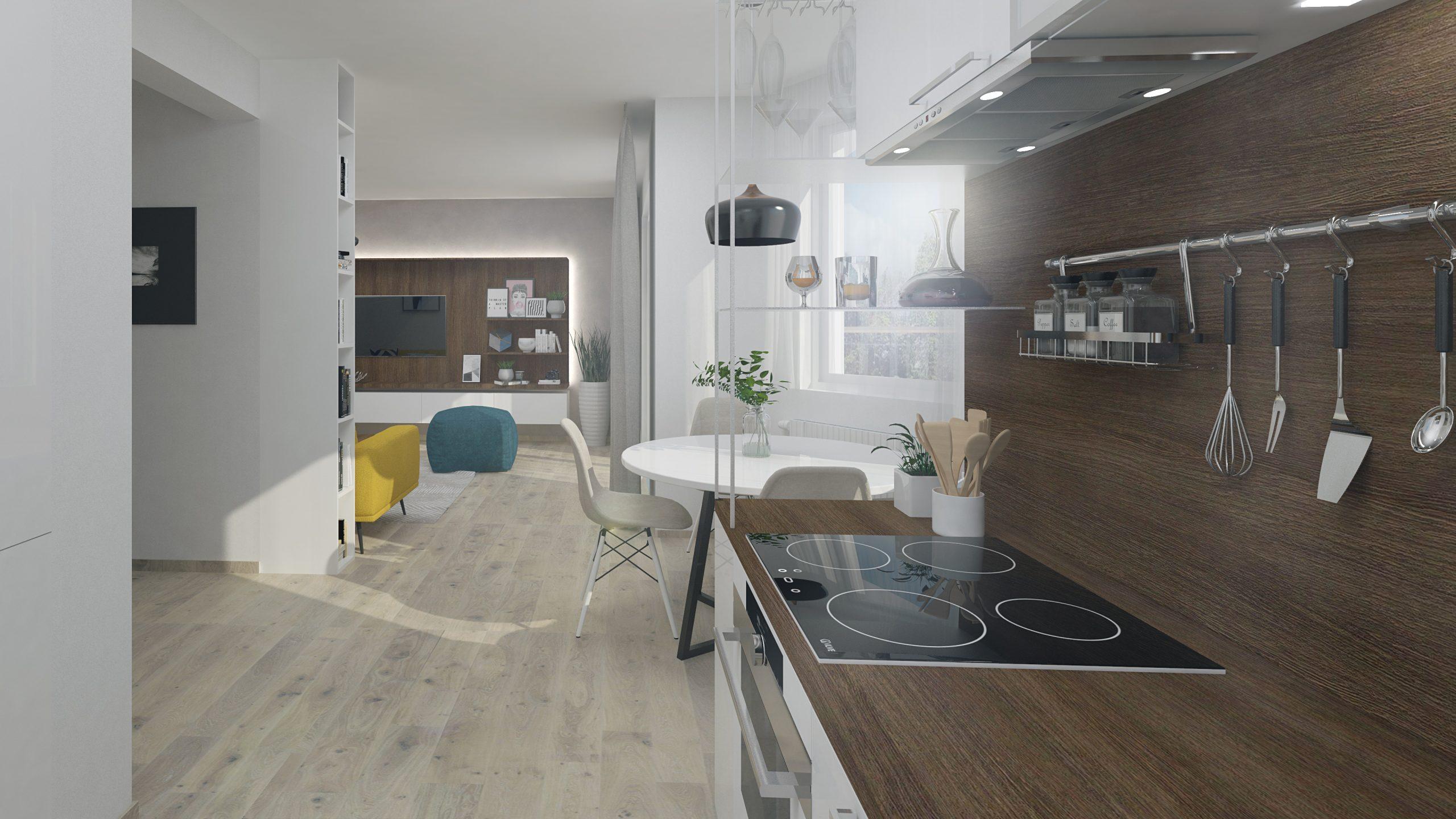 Vizualizacia kuchyna 2